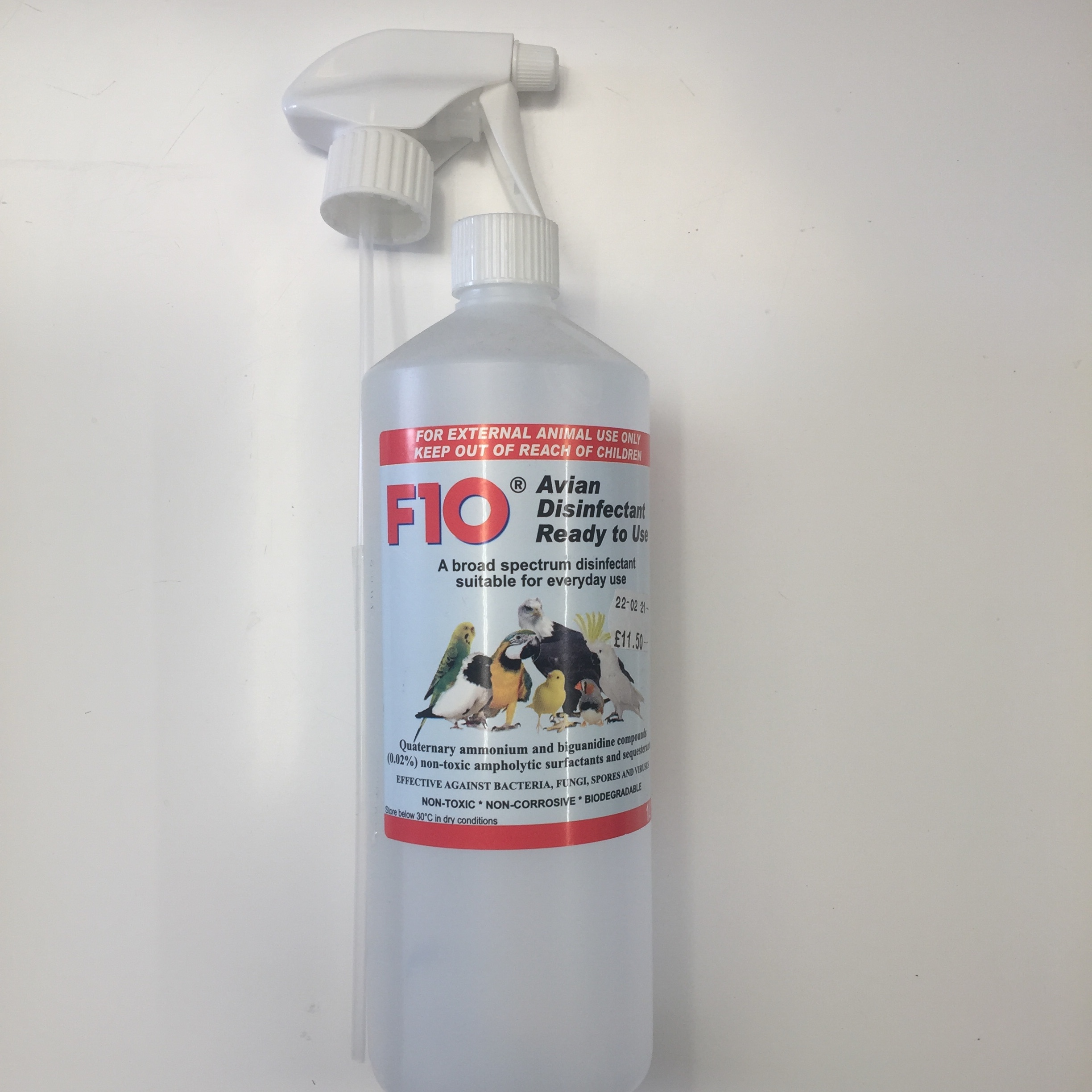 F10 Avian Disinfectant Ready To Use